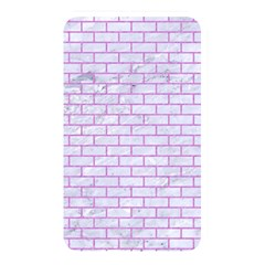 Brick1 White Marble & Purple Colored Pencil (r) Memory Card Reader by trendistuff