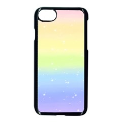 Pastelrainbowgalaxy Apple Iphone 7 Seamless Case (black) by RingoHanasaki