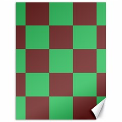 Background Checkers Squares Tile Canvas 18  X 24