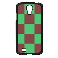 Background Checkers Squares Tile Samsung Galaxy S4 I9500/ I9505 Case (black)