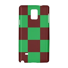 Background Checkers Squares Tile Samsung Galaxy Note 4 Hardshell Case