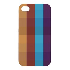 Background Desktop Squares Apple Iphone 4/4s Premium Hardshell Case
