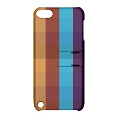 Background Desktop Squares Apple Ipod Touch 5 Hardshell Case With Stand by Sapixe