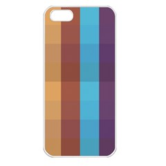 Background Desktop Squares Apple Iphone 5 Seamless Case (white)