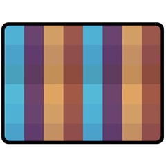 Background Desktop Squares Double Sided Fleece Blanket (large)