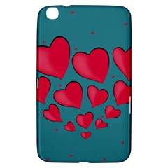 Background Desktop Hearts Heart Samsung Galaxy Tab 3 (8 ) T3100 Hardshell Case