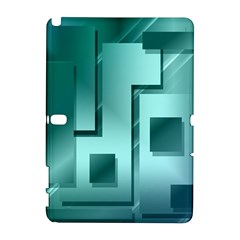 Green Figures Rectangles Squares Mirror Galaxy Note 1
