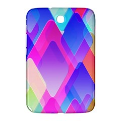 Squares Color Squares Background Samsung Galaxy Note 8 0 N5100 Hardshell Case