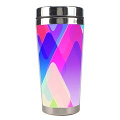 Squares Color Squares Background Stainless Steel Travel Tumblers