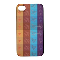 Background Desktop Squares Apple Iphone 4/4s Hardshell Case With Stand