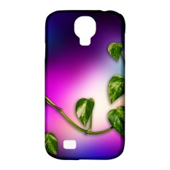 Leaves Green Leaves Background Samsung Galaxy S4 Classic Hardshell Case (pc+silicone)