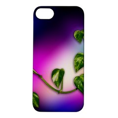 Leaves Green Leaves Background Apple Iphone 5s/ Se Hardshell Case by Sapixe