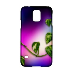 Leaves Green Leaves Background Samsung Galaxy S5 Hardshell Case