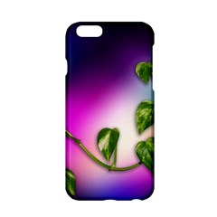 Leaves Green Leaves Background Apple Iphone 6/6s Hardshell Case by Sapixe