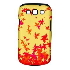 Leaves Autumn Maple Drop Listopad Samsung Galaxy S Iii Classic Hardshell Case (pc+silicone)