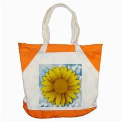 Plant Flower Flowers Bokeh Sky Accent Tote Bag by Sapixe