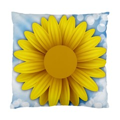 Plant Flower Flowers Bokeh Sky Standard Cushion Case (two Sides)