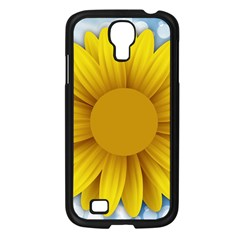Plant Flower Flowers Bokeh Sky Samsung Galaxy S4 I9500/ I9505 Case (black)