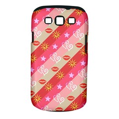 Background Desktop Pink Sun Stars Samsung Galaxy S Iii Classic Hardshell Case (pc+silicone)