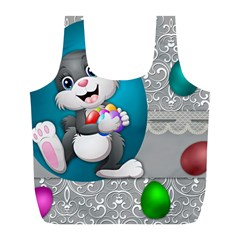 Illustration Celebration Easter Full Print Recycle Bags (l)