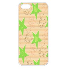 Background Desktop Beige Apple Iphone 5 Seamless Case (white)