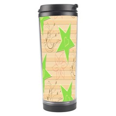 Background Desktop Beige Travel Tumbler