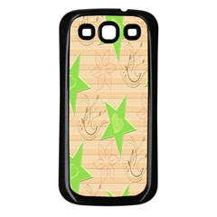 Background Desktop Beige Samsung Galaxy S3 Back Case (black)