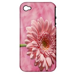 Background Texture Flower Petals Apple Iphone 4/4s Hardshell Case (pc+silicone)