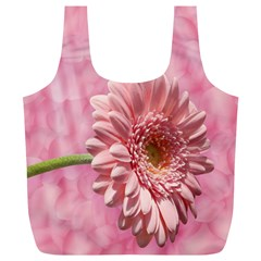 Background Texture Flower Petals Full Print Recycle Bags (l)