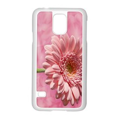 Background Texture Flower Petals Samsung Galaxy S5 Case (white)