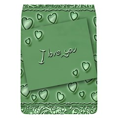 Card I Love You Heart Romantic Flap Covers (s)