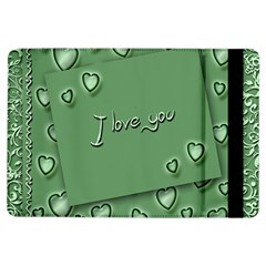 Card I Love You Heart Romantic Ipad Air Flip