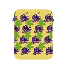 Grapes Background Sheet Leaves Apple Ipad 2/3/4 Protective Soft Cases