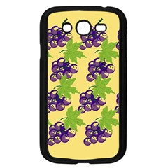 Grapes Background Sheet Leaves Samsung Galaxy Grand Duos I9082 Case (black)