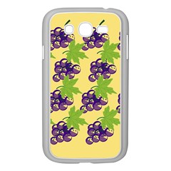 Grapes Background Sheet Leaves Samsung Galaxy Grand Duos I9082 Case (white)