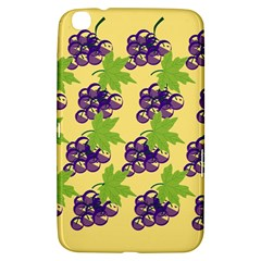 Grapes Background Sheet Leaves Samsung Galaxy Tab 3 (8 ) T3100 Hardshell Case