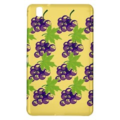 Grapes Background Sheet Leaves Samsung Galaxy Tab Pro 8 4 Hardshell Case by Sapixe