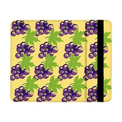 Grapes Background Sheet Leaves Samsung Galaxy Tab Pro 8 4  Flip Case