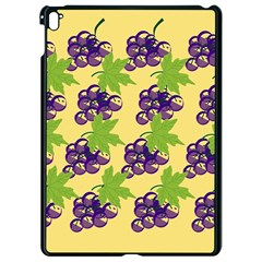 Grapes Background Sheet Leaves Apple Ipad Pro 9 7   Black Seamless Case by Sapixe