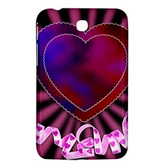 Background Texture Reason Heart Samsung Galaxy Tab 3 (7 ) P3200 Hardshell Case