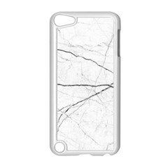 White Background Pattern Tile Apple Ipod Touch 5 Case (white)