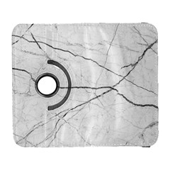 White Background Pattern Tile Galaxy S3 (flip/folio)
