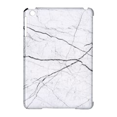 White Background Pattern Tile Apple Ipad Mini Hardshell Case (compatible With Smart Cover)