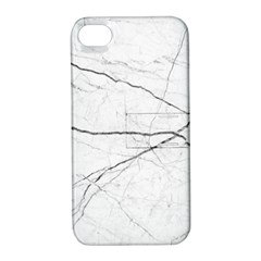 White Background Pattern Tile Apple Iphone 4/4s Hardshell Case With Stand