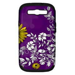 Background Bokeh Ornament Card Samsung Galaxy S Iii Hardshell Case (pc+silicone)