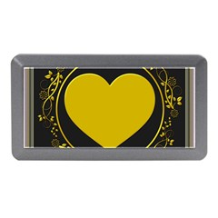 Background Heart Romantic Love Memory Card Reader (mini)