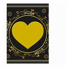 Background Heart Romantic Love Large Garden Flag (two Sides)