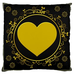 Background Heart Romantic Love Large Cushion Case (one Side)
