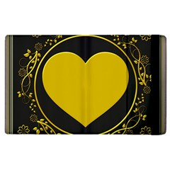 Background Heart Romantic Love Apple Ipad 2 Flip Case