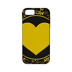Background Heart Romantic Love Apple Iphone 5 Classic Hardshell Case (pc+silicone)